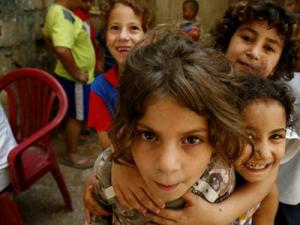 Palestinian refugee children show the resilience that lies within us all.